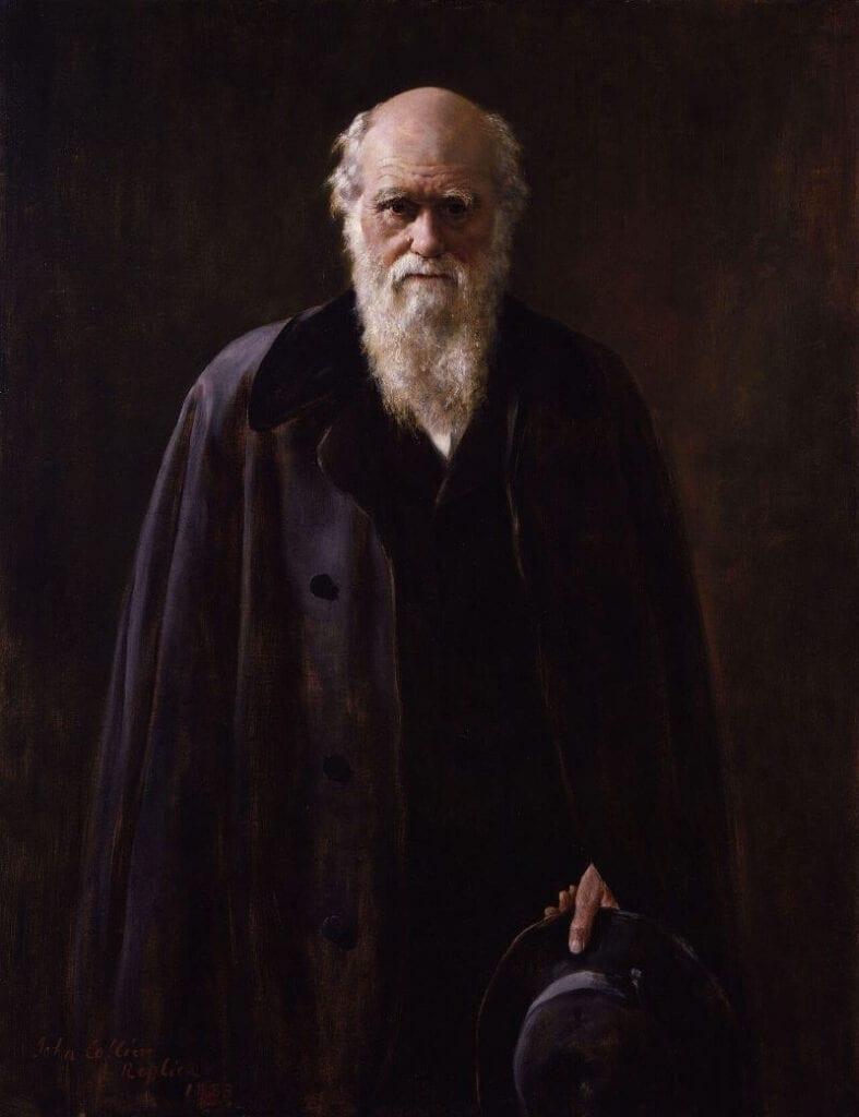 Charles Robert Darwin by John Collier.