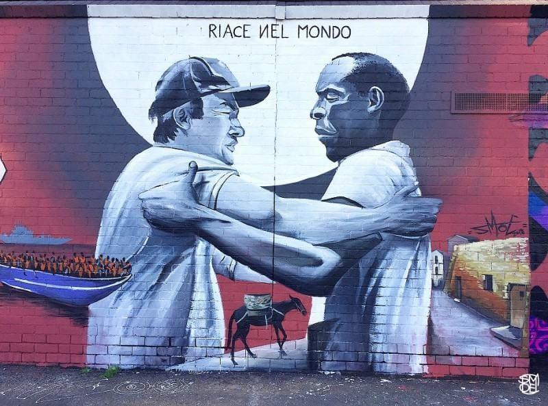 murales riace