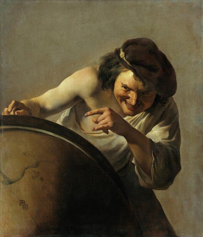 Democritus by Johannes Moreelse