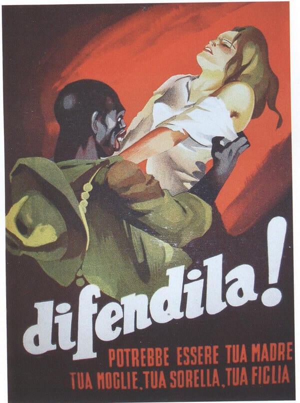 Gino Boccasile - manifesto per la repubblica di salò