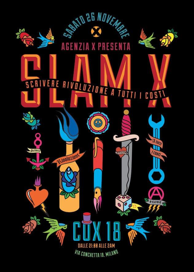 Slam X a Milano