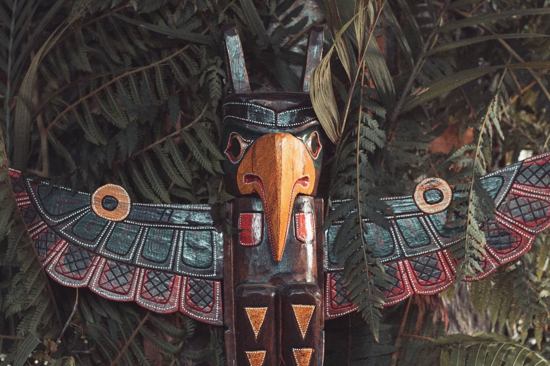 Totem difensore popolazioni Indigene