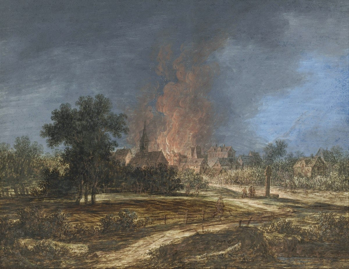 Paese in Fiamme