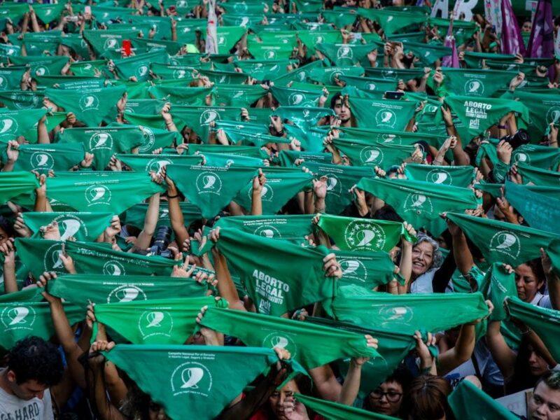 pañuelos verdes