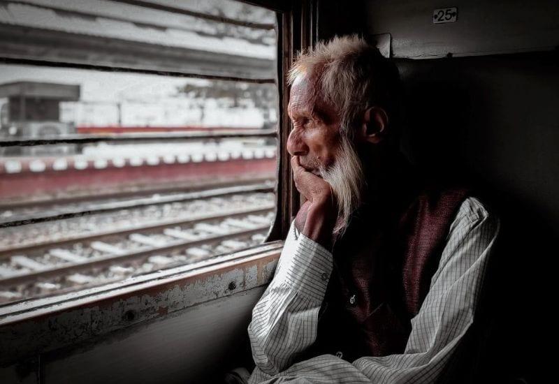 migrante in treno