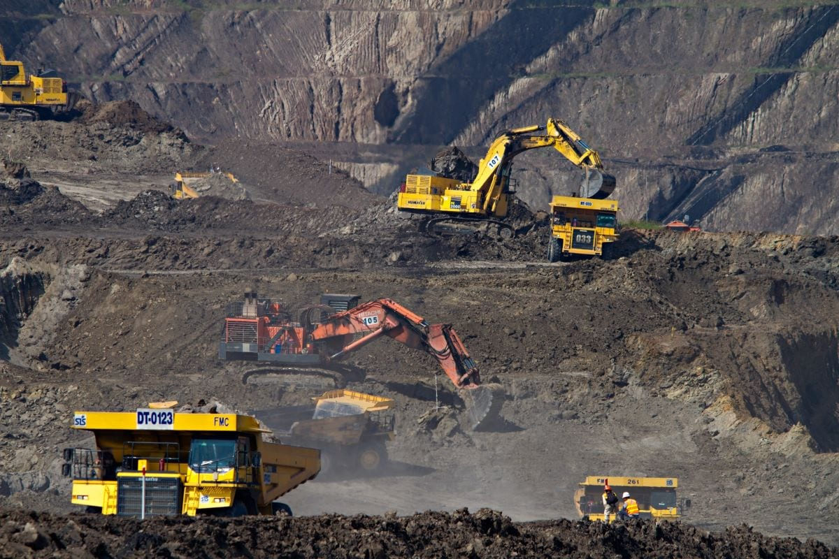 miniere di carbone