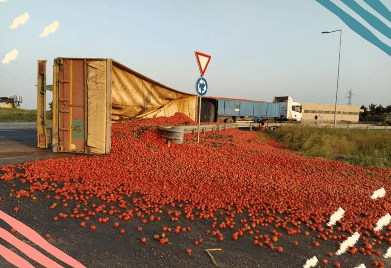 Camion pomodori