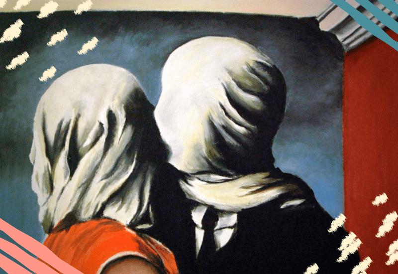Magritte il Bacio
