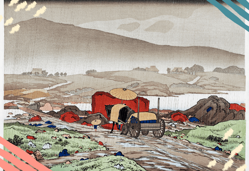 Yabakei (1918) print in high resolution by Goyō Hashiguchi. Original from the Minneapolis Institute of Art. Digitally enhanced by rawpixel.